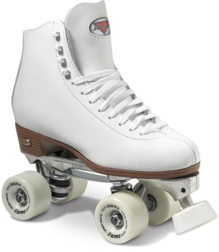 Sure-Grip 73 Competitor Junior White roller skates