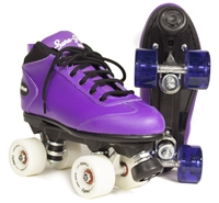 Sure-Grip Cyclone Purple Fame roller skates
