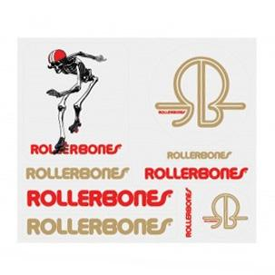Rollerbones Derby Skeleton Sticker Pack