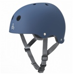 Triple 8 Brainsaver Helmet with EPS Liner - BLUE RUBBER