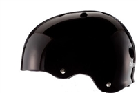 Triple 8 Helmet Brainsaver Certified Black Gloss