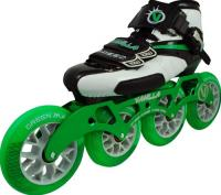 Vanilla Green Machine Inline Speed Skates