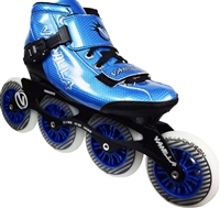 Vanilla Carbon Speed Skates Blue