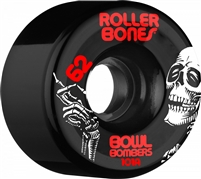 Rollerbones Bowl Bomber Wheels Red