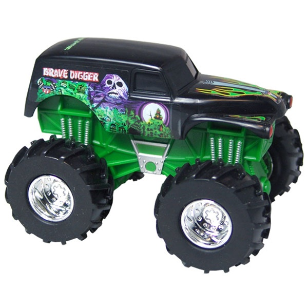 Hot Wheels Grave Digger Rev Tredz Truck