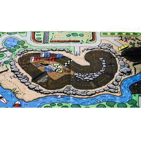 Monster Jam Play Rug Series 2