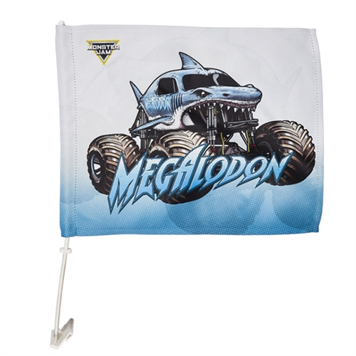 ea9b0e7fef Megalodon Car Flag
