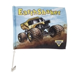 Earth Shaker Car Flag
