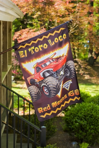 El Toro Loco House Flag