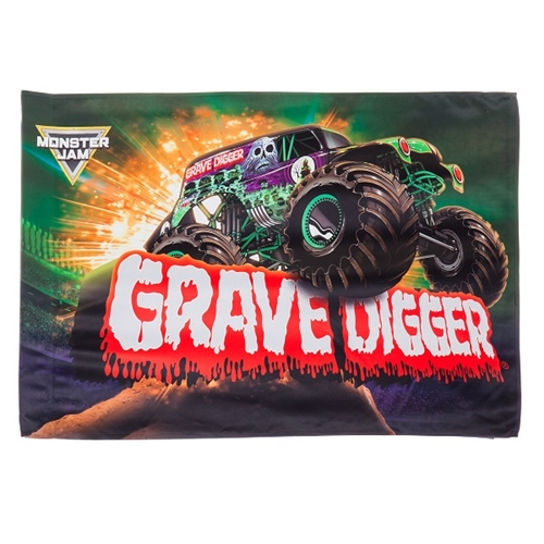 Grave Digger Estate Flag