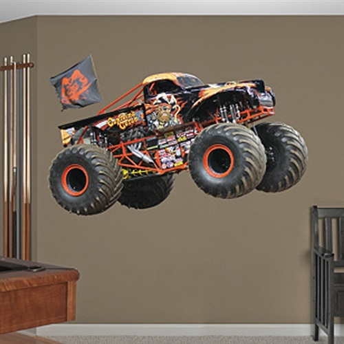 Monster Jam Captain's Curse Fathead