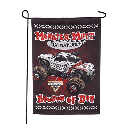 Monster Mutt Dalmatian Garden Flag