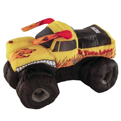 El Toro Loco Yellow Plush Truck