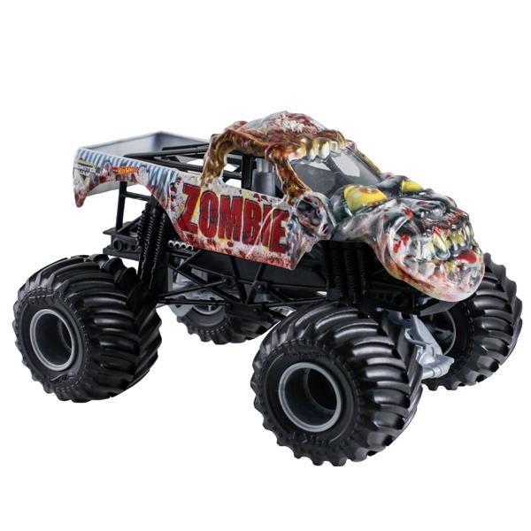 1 24 Hot Wheels Zombie Truck