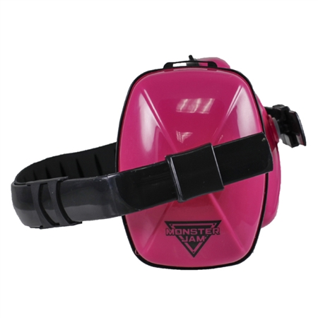 Monster Jam Pink Earmuffs