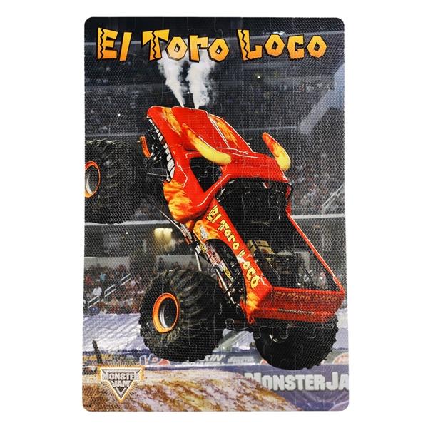 Monster Jam El Toro Loco Foam Puzzle