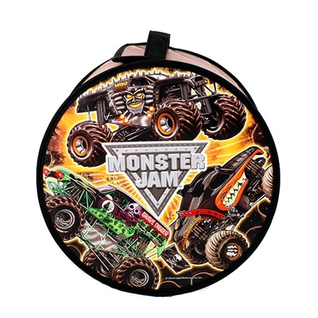 Monster Jam Tire Zip Bin