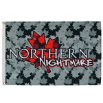 Northern Nightmare Flag (3X5 ft)