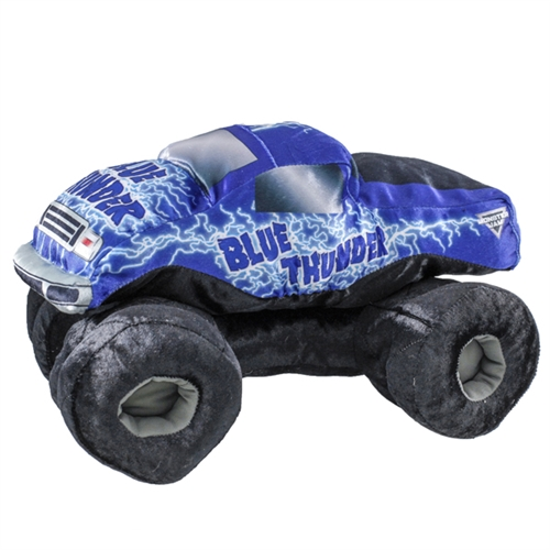 Blue Thunder Soft Plush Truck