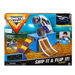 Ship It & Flip It! Playset with 1:64 Alien Invasion