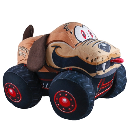 Monster Jam Truckin Pals Plush Monster Mutt