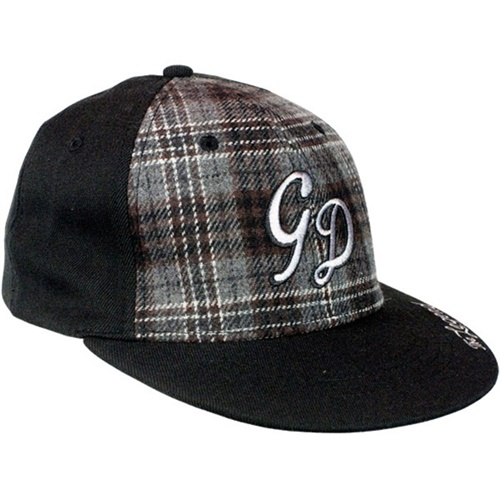 Grave Digger The Legend Plaid Cap