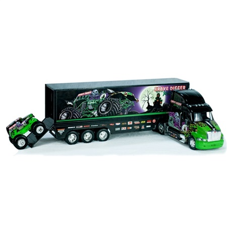 Grave Digger Monster Hauler