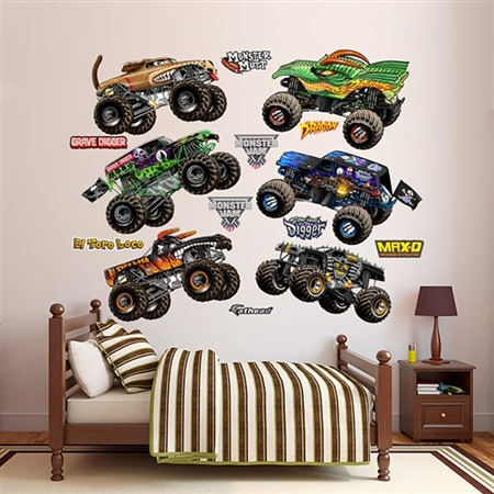 Monster Jam Fathead Collection