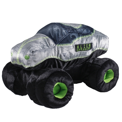 Alien Invasion Plush Truck