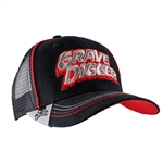 Grave Digger Red Piped Cap