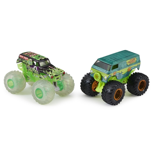 1:64 Grave Digger and Mystery Machine Duo