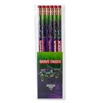 Grave Digger 6 Pack Pencils