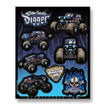 Son-Uva Digger Decal Sheet