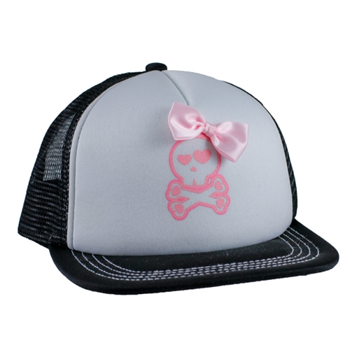 Youth Grave Digger Bow Cap