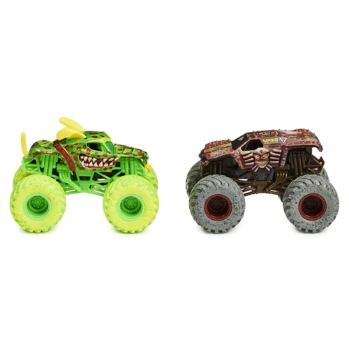1:64 Monster Mutt Dalmatian and Max D Zombie vs Hunter Duo