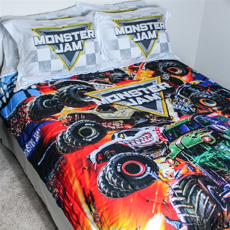 Monster Jam Full Bedding Set