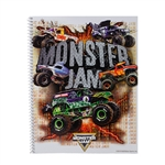 Monster Jam Notebook