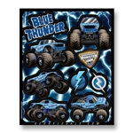 Blue Thunder Decal Sheet