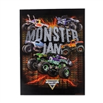 Monster Jam Lightening Folder