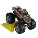 1:64 Hot Wheels Zombie Truck - Stunt Ramp Series