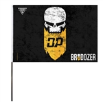 Brodozer Flag (14x22 in)