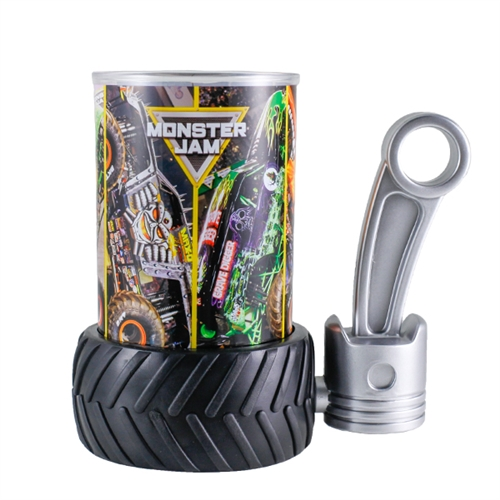 Monster Jam Lines Tire Mug