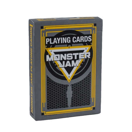 Monster Jam Playing Cards