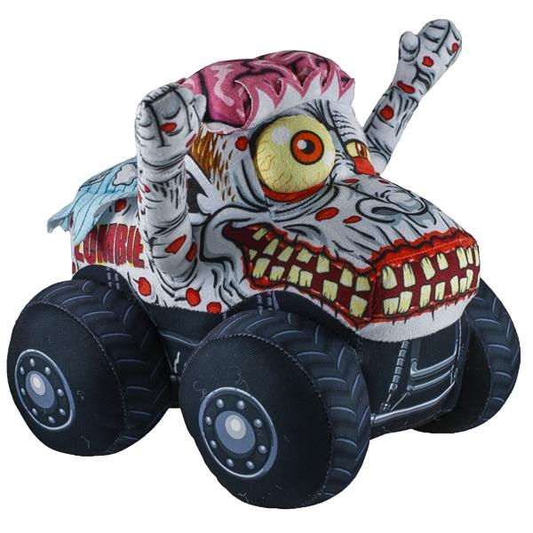 Monster Jam Truckin Pals Plush Zombie