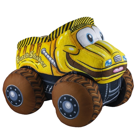 Monster Jam Truckin Pals™ Plush Earth Shaker