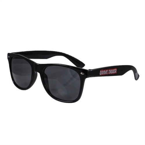 Grave Digger Black Sunglasses
