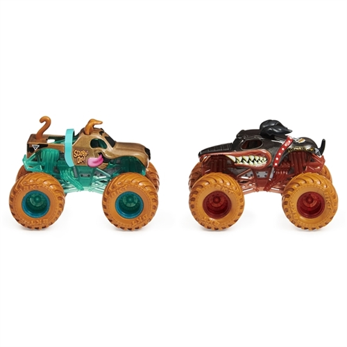 1:64 Monster Mutt Rottweiler and Scooby-Doo Duo
