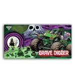 Grave Digger Ghost Beach Towel