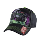 Grave Digger Tombs Patch Youth Cap