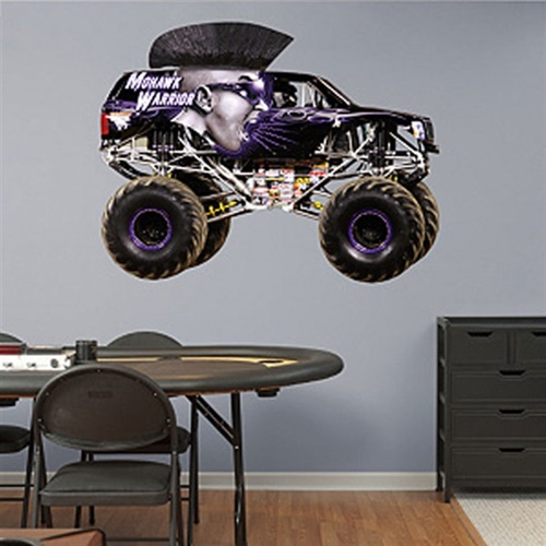 Monster Jam Mohawk Warrior Fathead